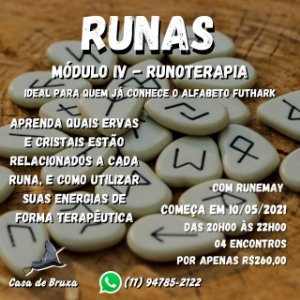 10/05/2021 - Runoterapia (ONLINE)