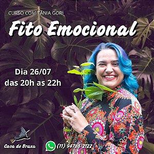 26/07/2021 - Fitoterapia Emocional (ONLINE)