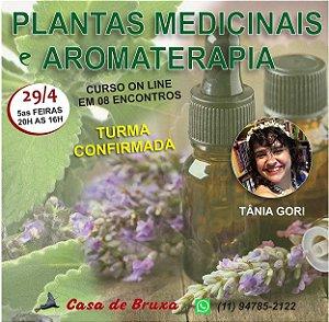29/04 - Plantas Medicinais & Aromaterapia (ONLINE)