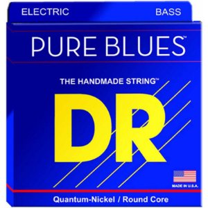 Encordoamento DR STRINGS Pure Blues para Baixo de 5 Cordas .45