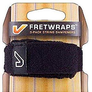 Fretwrap GruvGear PRETO para Baixo de 5 Cordas (Médio)