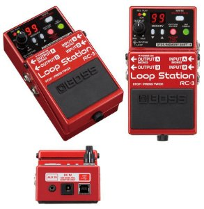 Pedal BOSS LoopStation  Rc3 para Guitarra - Baixo - Violão