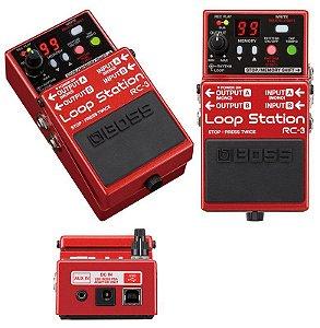 Pedal BOSS LoopStation  Rc3 para Guitarra - Baixo - Violão