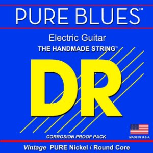 Encordoamento DR STRINGS Pure Blues para Guitarra .10