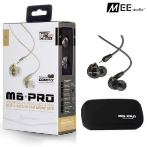 Fone In-ear MEE Audio M6 para retorno