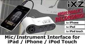 Interface Móvel para Gravação em alta qualidade TASCAM IXZ