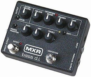 Pedal MXR Bass Di Pre Amp + Drive