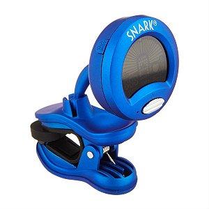 Afinador Clip on Cromático SNARK SN-1X - para Baixo e Guitarra Azul