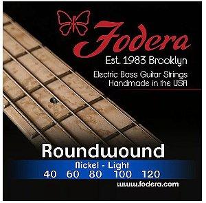 Encordoamento para baixo FODERA 5 cordas - 0.40 Nickel