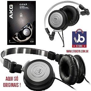 Fone Profissional AKG 414p - Só Originais By Harman