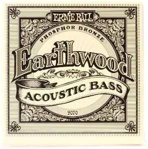 Encordoamento para Baixo acústico Ernie Ball (baixolão) 4 Cordas