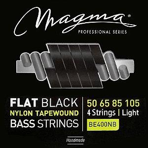 Encordoamento P/ Baixo Magma Flat Black Nylon