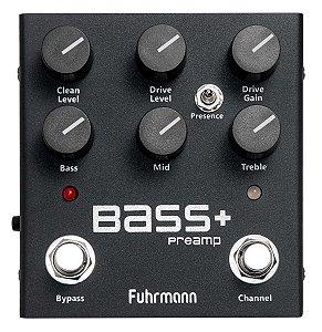 Pedal Fuhrmann Bass Preamp Lançamento