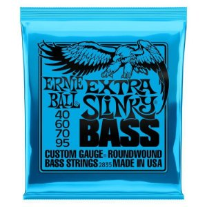 Encordoamento Ernie Ball Super Slink 4 Cordas 0.40 - Originais