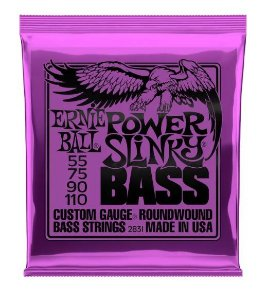 Encordoamento Ernie Ball Super Slink 4 Cordas 0.55 - Originais