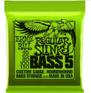Encordoamento Ernie Ball Super Slink 5 Cordas 0.45 - Originais