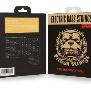 Encordoamento Para Baixo PITBULL Strings - 5c 0.40 Importado