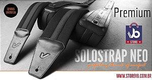 Correia Luxo GRUVGEAR Solo Neo Strap 4.0 - Black