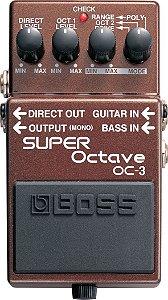 Pedal BOSS Oitavador OC3 para Guitarra - Baixo