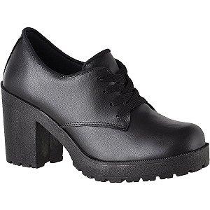 830e26b88f Sapato Feminino Preto com Solado Tratorado CG1710