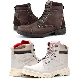615df7915e Kit 2 Pares Bota Way Boots Casual Masculina