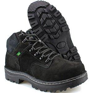 e6cf50bb8f Coturno Adventure Way Boots Cano Médio Preta