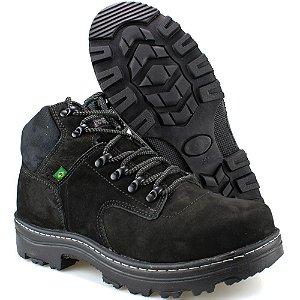 a435f9b646 Bota Way Boots Adventure Trilha Masculina Cano Médio Preto