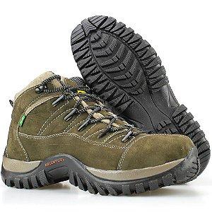 4bed5b71c6 Bota Way Boots Adventure Trilha Masculina Cano Curto Chumbo