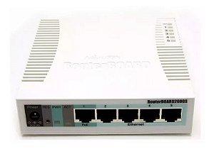 Mikrotik Routerboard Rb 260gs 5 Portas Gigabit Gerenciável