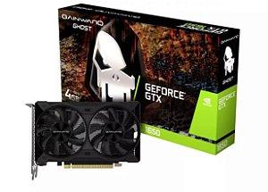 Placa de vídeo GeForce GTX1650 4GB Ghost G6 128Bits Gainward NE6165001BG1-1175D GPU nVidia DDR6