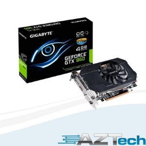 Placa De Vídeo Geforce Gtx 960 Mini 4gb Gigabyte Oc Ddr5