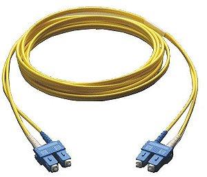 Patch Cord Fibra Óptica Sc-upc Duplex Single Mode 2.0mm 3m