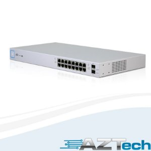 Switch Ubiquiti Unifi Us-16-150w-br 16p Poe Rj45 + 2p Sfp