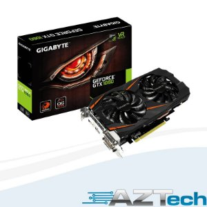 Placa De Vídeo Gtx 1060 3gb Windforce 2x Gv-n1060wf2oc-3gd