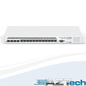 Roteador MIKROTIK CLOUD CORE CCR1036-12G-4S 4GB de memória
