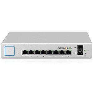 Switch Ubiquiti Unifi Us-8-150w-br 8p Poe Rj45 + 2p Sfp