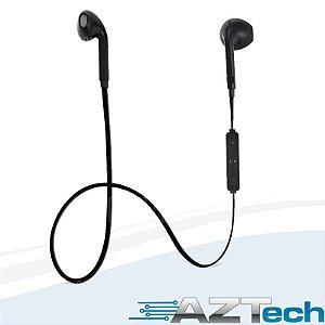 Fone De Ouvido Bluetooth V4.1 Sports Preto B3300 C\ Mic