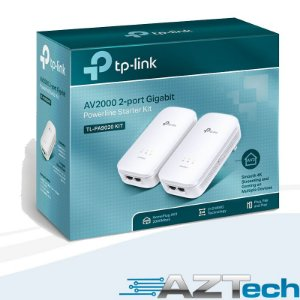 Kit Powerline Tp-link Tl-pa9020 Kit Av2000 Gigabit