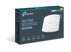 Ap De Teto Ac1750 Wireless Dual Band Gigabit Tp Link Eap245