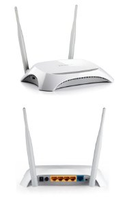 Roteador Wireless Tl-mr3420 3g / 4g 300mb Tp-link