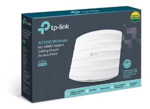 Access Point Gigabit Wireless AC1200 TP-Link EAP225 Auranet MU-Mimo AP de Teto