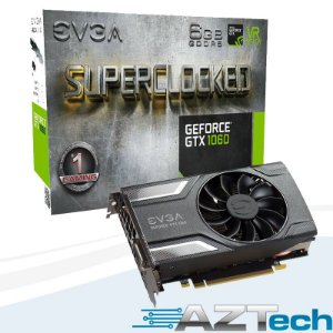 Placa De Vídeo Geforce Gtx 1060 Sc Gaming 6gb Gddr5 Evga