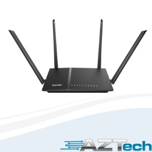Roteador Wireless D-link Dir-815 Ac1200 Dual Band 4 Antenas