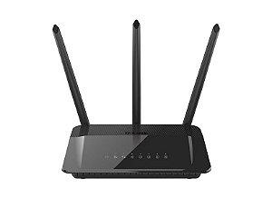 Roteador Wireless AC 1750Mbps High-Power Dualband (2,4 & 5GHz) D-LINK DIR-859