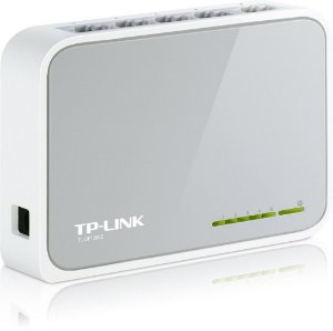Switch 5 portas 10/100MB/s TP-Link TL-SF1005D