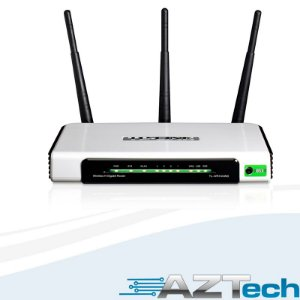 Roteador Wireless N Gigabit 300mbps Tl-wr1043nd Tp-link
