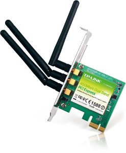 Placa De Rede Wireless Pci-e Tp-link Banda Dupla Tl-wdn4800