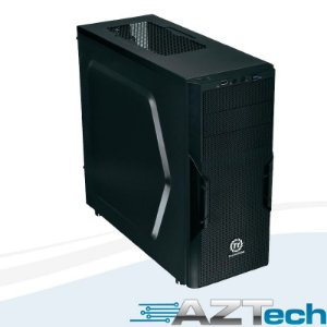 Gabinete Thermaltake Versa H22 Black Case Ca-1b3-00m1nn-00