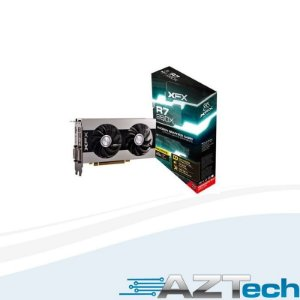 Placa de Vídeo  Radeon R7 260x 2GB DDR5 XFX 128 bits