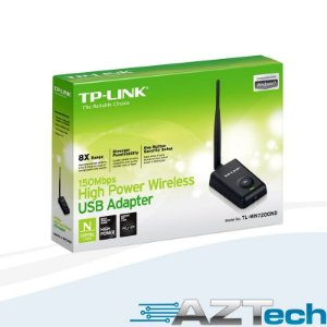 Adaptador Usb Wireless De Alta Potência Tp-link Tl-wn7200